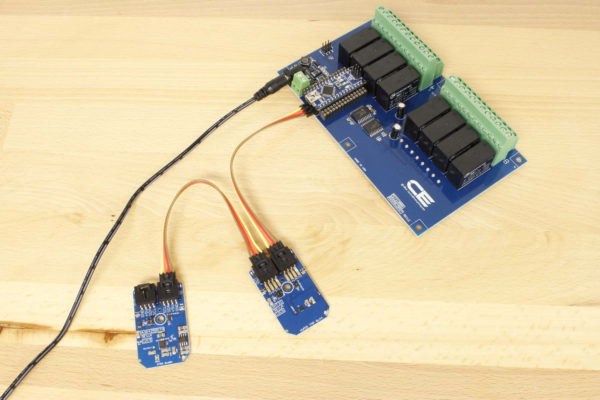Arduino Relay Shield DPDT with SHT31 Temperature and Humidity Sensor