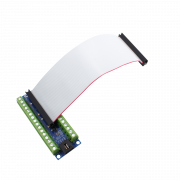 Screw Terminal Breakout Board with I2C for Raspberry Pi 2 and 3