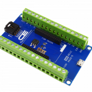 Screw Terminal Breakout Board with I2C and USB Interface for Onion Omega 2 and Onion Omega 1