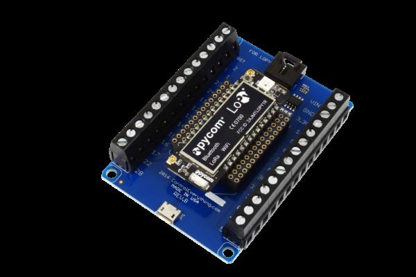 Screw Terminal Breakout Board for WiPy2 & LoPy