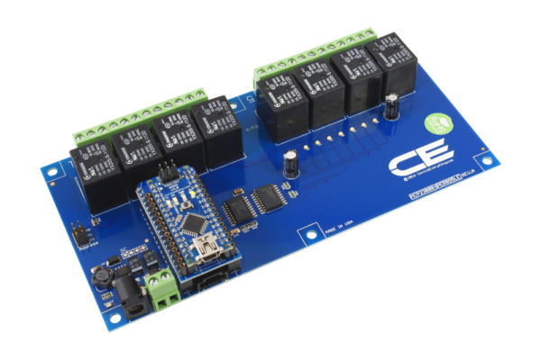 Adapt this I2C Relay Shield to Arduino Nano using the AN Adapter