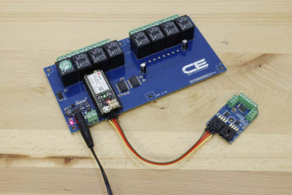 Cellular Relay Board 8-Channel 10-Amp and Digital Potentiometer