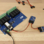 Cellular Pressure Sensor Gyroscope and Relay Controller using I2C Bus