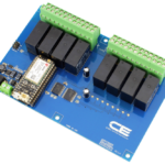 Relay Shield for Particle Electron I2C 8-Channel DPDT 5-Amp with Cellular and USB Interface