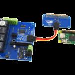 Pi Zero I2C Shield with I2C Relay Board 4-Channel and 4 GPIO