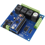 Arduino Micro Relay Shield using AM Adapter