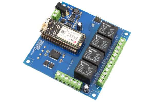 Cellular Relay Shield 4-Channel 10-Amp for Particle Electron