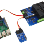 Raspberry Pi 3 Temperature Sensor and High-Power Relay Shield