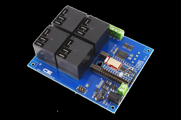 Bluetooth BLE Relay Shield using Bluz Module