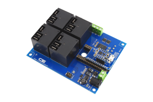 Trinket Relay Controller using the TK Adapter