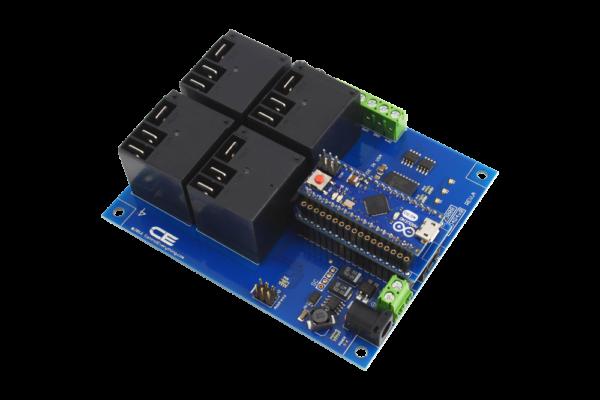 High Power Relay Control using Arduino Micro