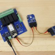 Cellular Relay with Pressure Sensor and ADC