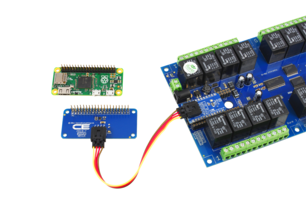 Pi Zero Relay Shield using SI Adapter