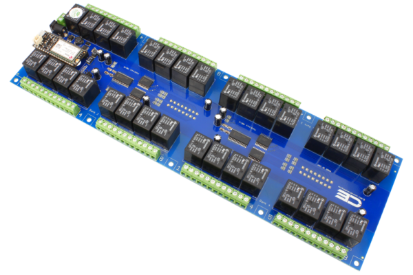 32-Channel Relay Shield with Cellular Interface
