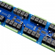 32-Channel Cellular Relay Controller using Particle Electron