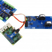 Raspberry Pi 3 Energy Monitoring and Relay Shield