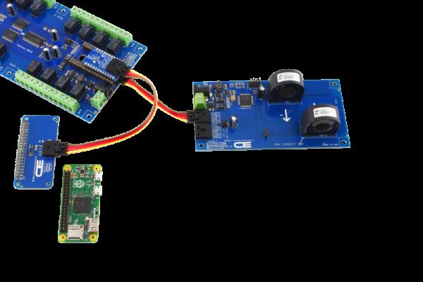 Raspberry Pi Zero Energy Monitoring and Relay Shield