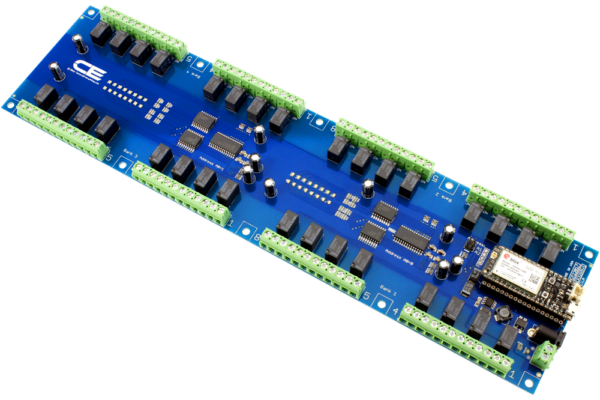 Relay Board with Cellular Interface