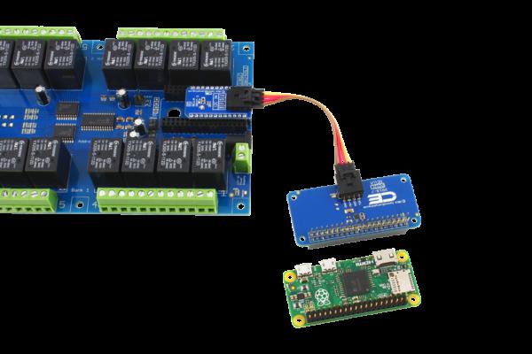 Raspberry Pi Zero I2C Expansion Relay Shield