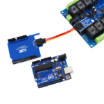 Arduino Uno I2C Expansion Relay Shield
