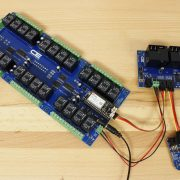 Cellular DAC with Two Relay Boards and GPIO using Electron