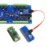 Raspberry Pi I2C Relay Shield with 8 Digital Input Output GPIO