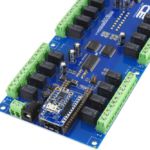 Relay Shield for Particle Electron I2C 24-Channel SPDT 1-Amp Signal Relay with Cellular and USB Interface + 8 Programmable GPIO