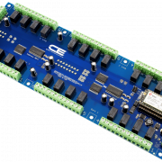Relay Shield for Particle Electron I2C 24-Channel SPDT 1-Amp with Cellular and USB Interface + 8 Programmable GPIO