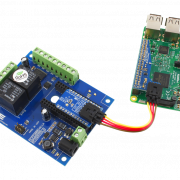 Raspberry Pi 2-Relay Shield with 6 GPIO using I2C Cables