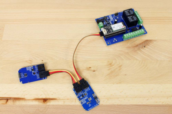 Cellular Relay Control using I2C Bus with External Expansions
