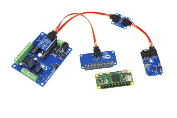 Relay Shield for Raspberry Pi Zero 2-Channel 1-Amp and Magnet Sensor