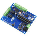 Relay Shield for Particle Electron I2C 2-Channel SPDT 1-Amp Signal Relay with Cellular and USB Interface + 6 Programmable GPIO