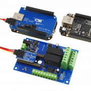 BeagleBoard I2C Shield with 2 External DPDT Relays and 6 GPIO