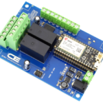 Relay Shield for Particle Electron I2C 2-Channel DPDT 5-Amp with Cellular and USB Interface + 6 Programmable GPIO