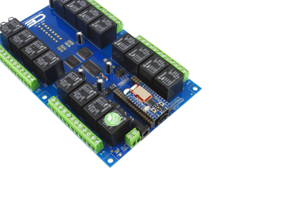 BLE Relay Shield using Bluz Bluetooth Low-Energy