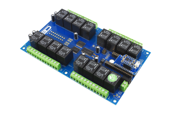 Relay Shield with Trinket TK Adapter (5V Version Only)