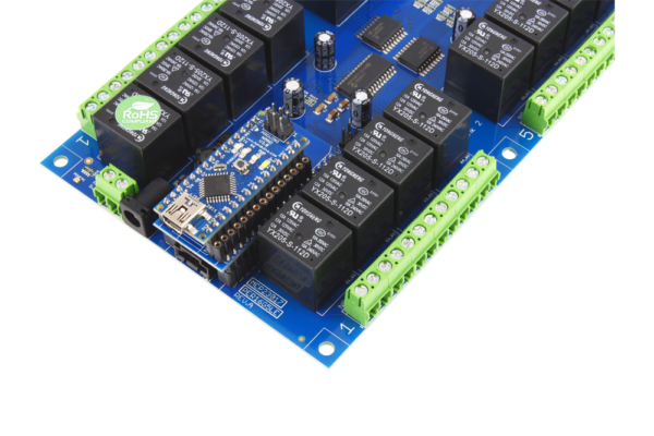 Install a Arduino Nano into this Relay Shield using AN Adapter