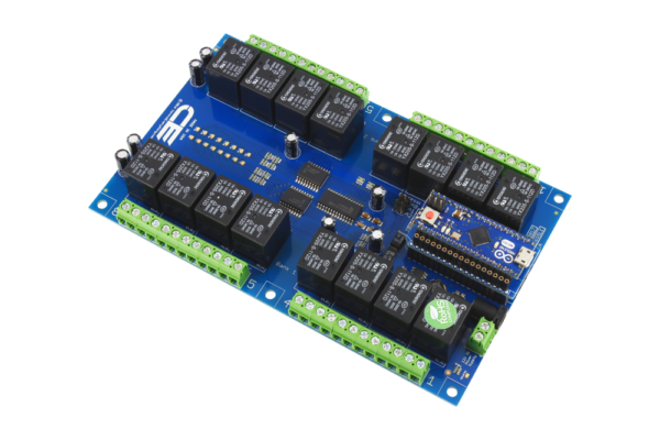 Install a Arduino Micro into this Relay Shield using AM Adapter