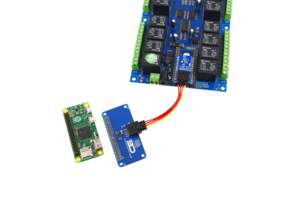 Raspberry Pi Zero Relay Board with 16 SPDT Relays