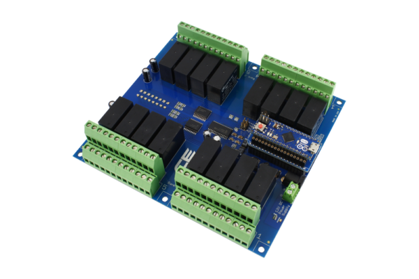 Relay Shield for Particle Electron I2C 16-Channel DPDT 5-Amp with Cellular and USB Interface