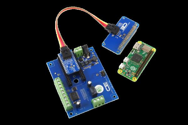 Raspberry Pi Zero Relay Shield using I2C 1-Channel 1 Amp SPDT