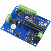 Arduino Relay Shield using I2C 1-Channel 1 Amp SPDT using AM Adapter
