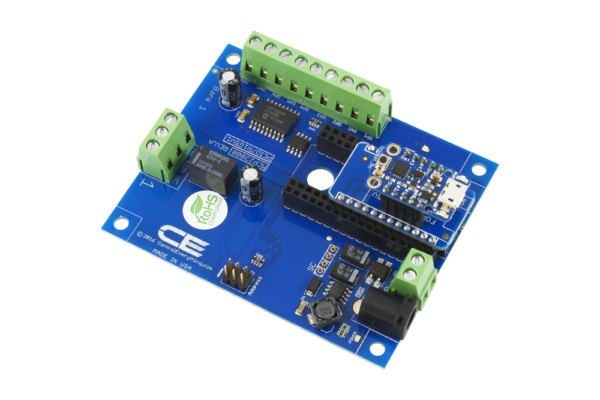 Trinket Relay Shield using I2C 1-Channel 1 Amp SPDT using TK Adapter