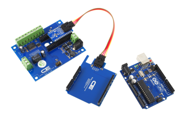 1-Channel 1-Amp I2C Relay Expansion for Arduino Uno