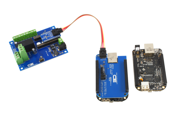 1-Channel Relay Expansion for Beagle Board using I2C Communications