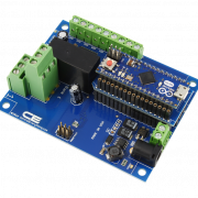 1-Channel DPDT Relay Shield using AM Adapter for Arduino Micro