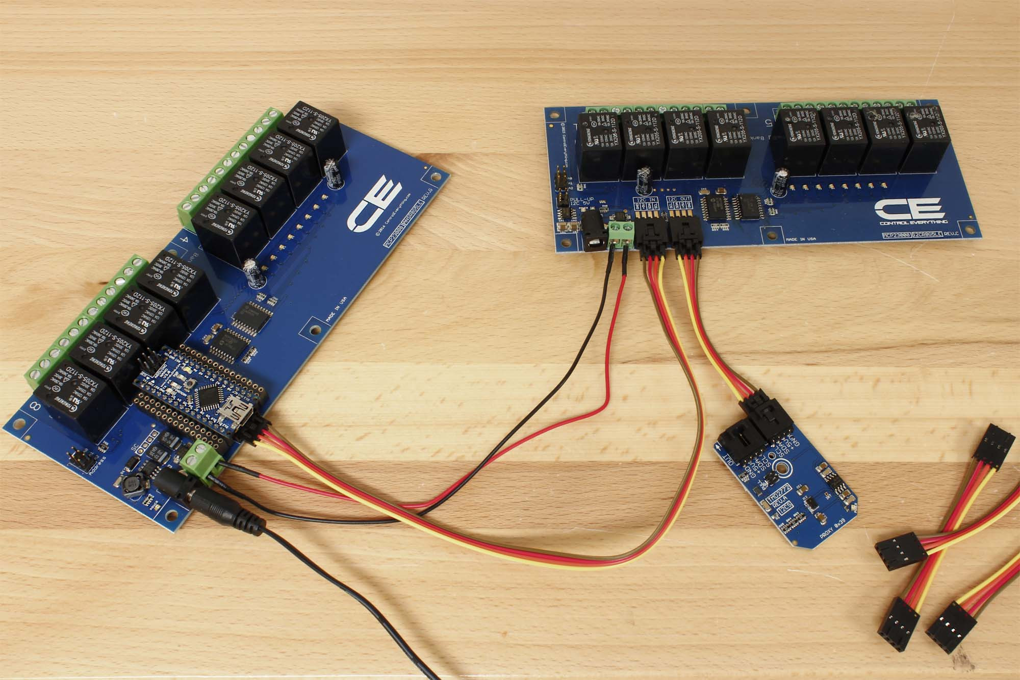 8 Channel General Purpose Spdt Relay Controller With I2c Interface Electromagnetic Arduino Nano Shield
