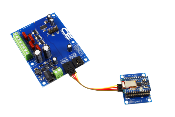 PCA9685 4-Channel 8W 12V FET Driver Proportional Valve Controller with Cross-Platform I2C Interface
