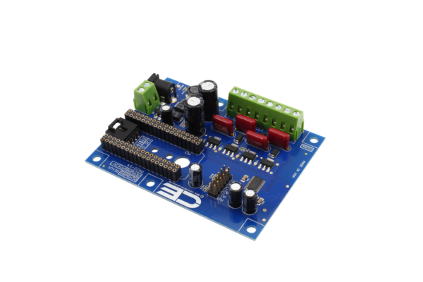 PCA9685 4-Channel 8W 12V FET Driver Proportional Valve Controller I2C Shield for Particle Electron Cellular and USB