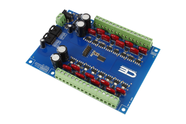 PCA9685 16-Channel 8W 12V FET Driver Proportional Valve Controller with Cross-Platform I2C Interface